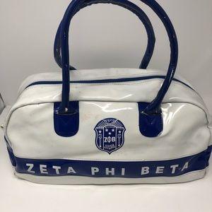 Zeta Phi Beta handbag